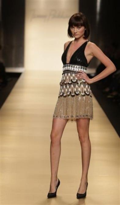 Vestito stile antico Egitto di Jenny Packham