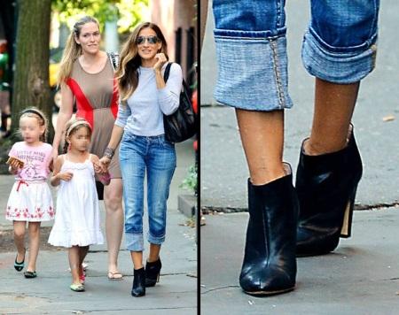 Sarah Jessica Parker e gli ankle boots